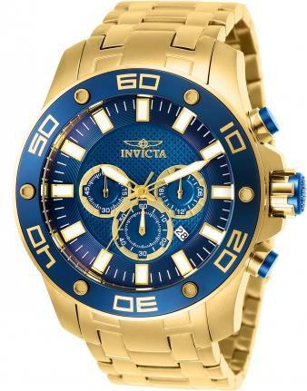 Relógio Masculino Invicta Pro Diver 26078 Gold