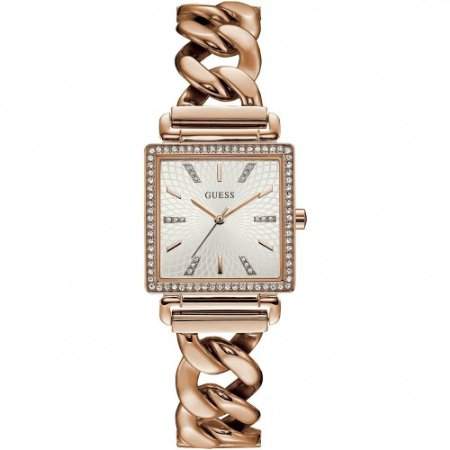Relógio Feminino Guess W1030L4 Rose Cravejado
