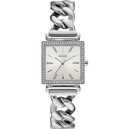 Relógio Feminino Guess W1030L1 Prata cravejado