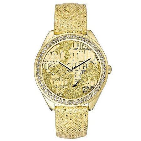 Relógio Feminino Guess W0503L2 Dourado