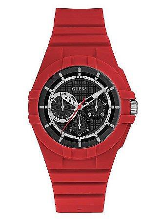 Relógio Unissex Guess W0942L4 Vermelho