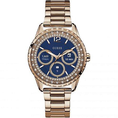 Relógio Feminino Smartwatch Guess Modelo C1003L4 Dourado