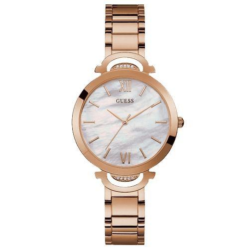 Relógio Feminino Guess W1090L2 Ouro Rose