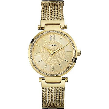 Relógio Feminino Guess W0638L2 Dourado