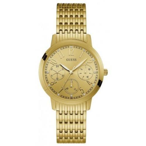 Relógio Feminino Guess W1088L1 Dourado