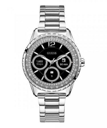 Relógio Feminino Smartwatch Guess Modelo C1003L3 Prata