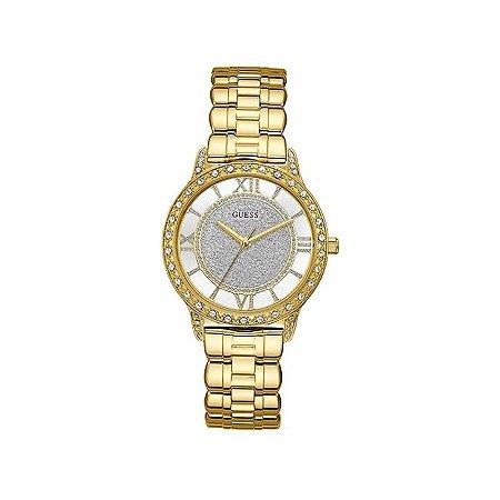 Relógio Feminino Guess W1013L2 Dourado