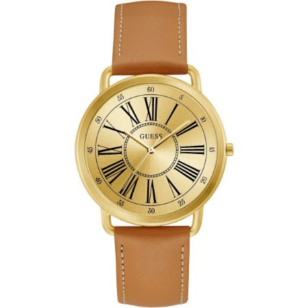 Relógio Feminino Guess W1068L4 Couro Bege