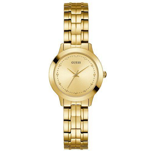 Relógio Feminino Guess W0989L2 Dourado