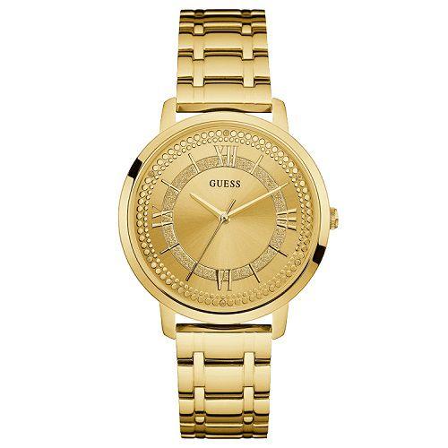 Relógio Feminino Guess W0933L2 Dourado