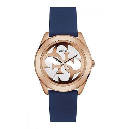 Relógio Feminino Guess W0911L6 Borracha Azul