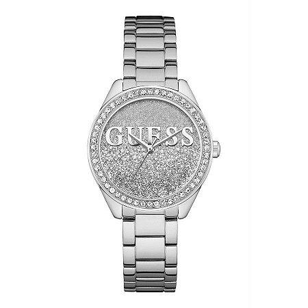 Relógio Feminino Guess W0987L1 Prata
