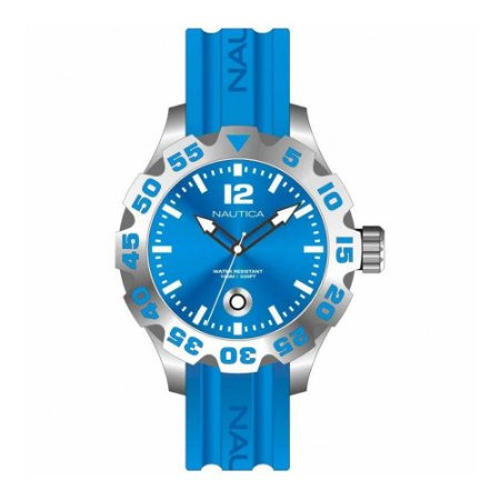 Relógio Masculino Nautica A14602G Azul