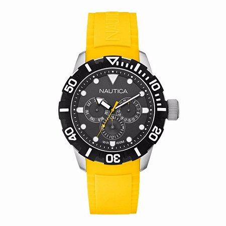 Relógio Masculino Nautica A13644G Amarelo