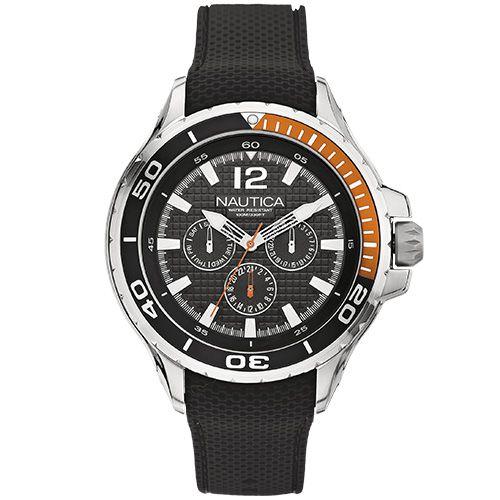 Relógio Masculino Nautica A17612G Preto