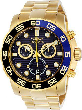 Relógio Masculino invicta Pro Diver 21555 Dourado
