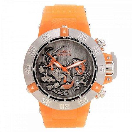 Relógio Masculino invicta Subaqua 24356 Laranja