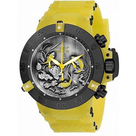 Relógio Masculino invicta Subaqua 24357 Amarelo