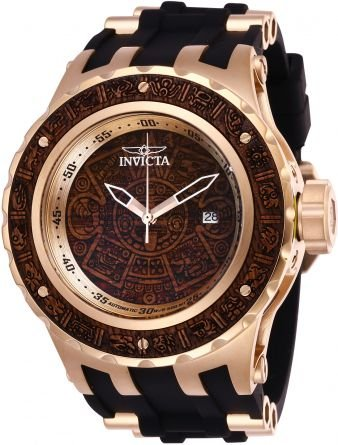 Relógio Masculino Invicta Subaqua 26280 Marrom Madeira
