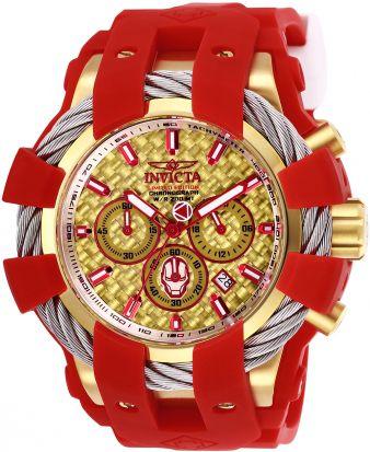 Relógio Masculino Invicta Marvel 26011 Vermelho