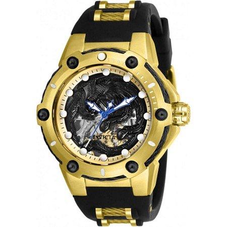 Relógio Masculino Invicta Bolt 26385 pulseira De Silicone Preta