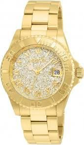Relógio Feminino Invicta Swiss 22707 Dourado