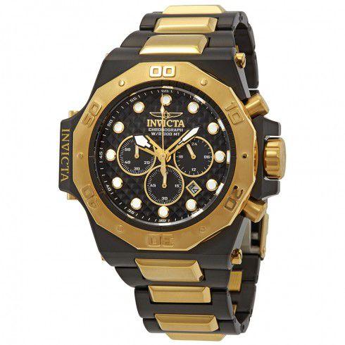 Relógio Masculino invicta Akula 23100 Dourado