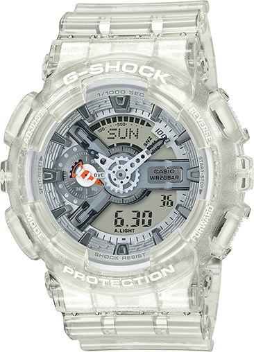 Relógio Masculino Casio G-SHOCK GA110CR-7A Transparente