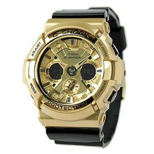 Relógio Masculino Casio G-SHOCK GA-200GD-9B2DR Pulseira Preta