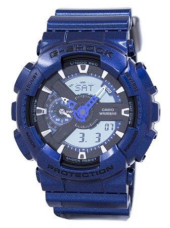 4db9d7812fe Relógio Masculino Casio G-SHOCK GA-110NM-2ADR Azul - Mimports ...