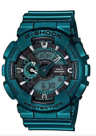Relógio Masculino Casio G-SHOCK GA-110NM-3ADR Azul