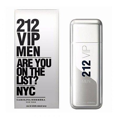 Perfume Masculino 212 Vip Men Eau de Toilette