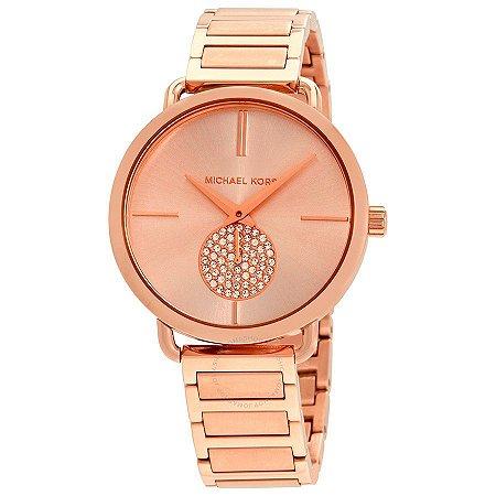 Relógio Feminino Michael Kors MK3640 Ouro Rose