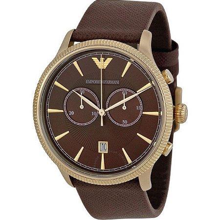 0aeb3b4a39 Relógio Masculino Emporio Armani AR1793 Marrom - Mimports - Produtos ...