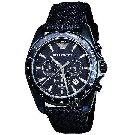 Relógio Masculino Emporio Armani AR6132 Azul