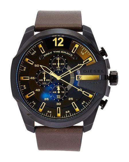 Relógio Masculino Diesel DZ4401 Couro Marrom