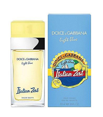 Perfume Feminino Dolce e Gabbana Italian Zest