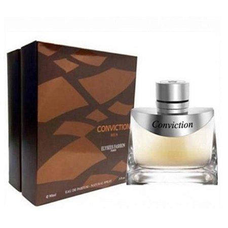 Perfume Masculino Elysees Fashion Paris Conviction Men Eau de Parfum