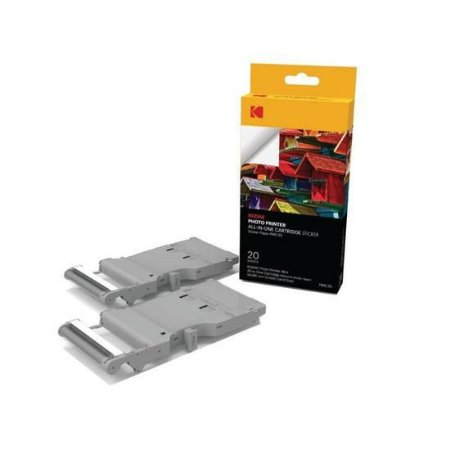 Cartucho de Impressora Kodak Photo Printer Mini PMS-20 + 20 Papel Adesivo