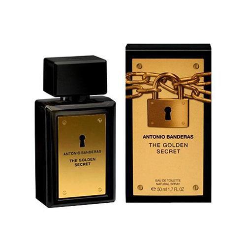 Perfume masculino Antonio Banderas The Golden Secret Eau de Toilette