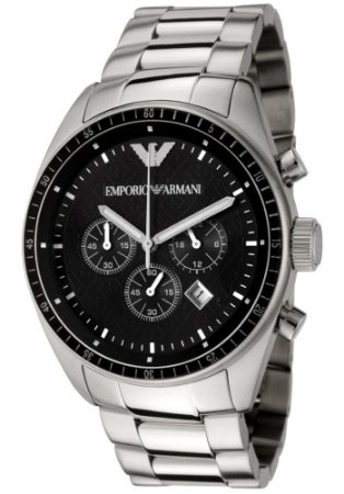 Relógio Masculino Empório Armani AR0585 Prata