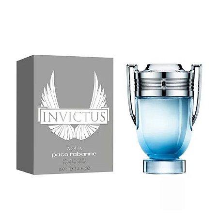 Perfume Masculino Paco Rabanne Invictus Aqua Eau de Toilette