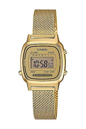 Relógio Feminino Casio Modelo LA670WEMY-9 Dourado