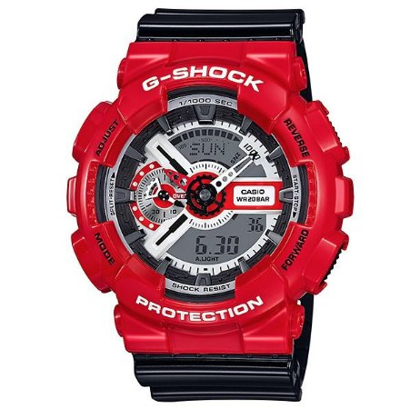 Relógio Masculino Casio G-Shock ga-110rd-4adr Vermelho