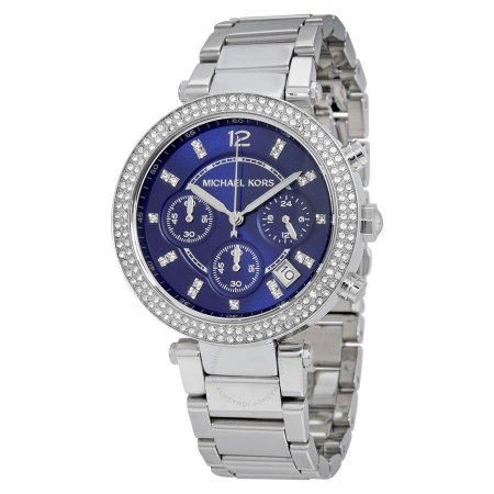 Relógio Feminino Michael Kors MK6117 Prata Cravejado