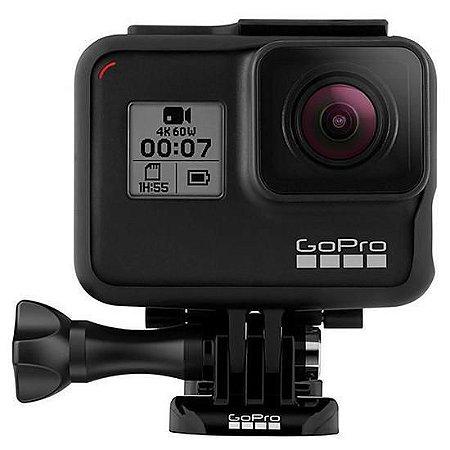 Filmadora GoPro Hero7 Black 4K com Wi-Fi e Comando de Voz