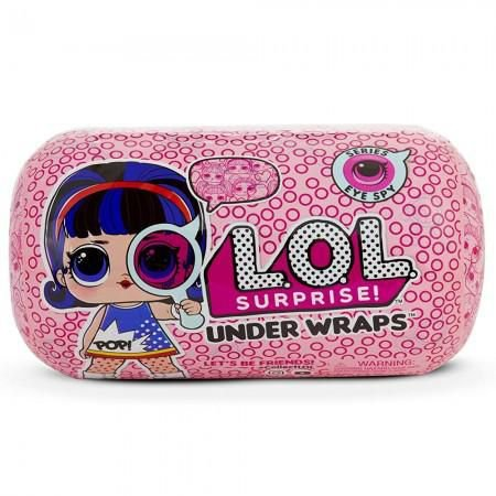 Boneca Lol Original Serie Eye SPY Under Wraps