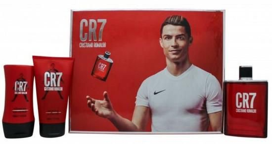 Kit Perfume Masculino Cristiano Ronaldo CR7 Edt 100ML + Body Shower 150 + Balsamo 100
