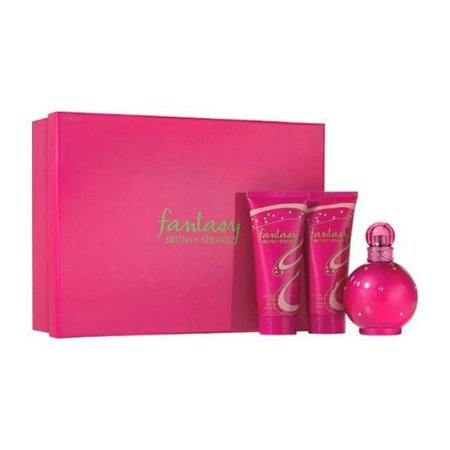 Kit Perfume Britney Spears Fantasy Edp 100ML + Loção corporal 100ml + Gel de Banho 100ml