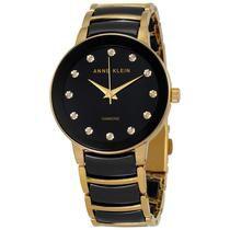Relógio Feminino Anne Klein AK2472 BKGB Misto